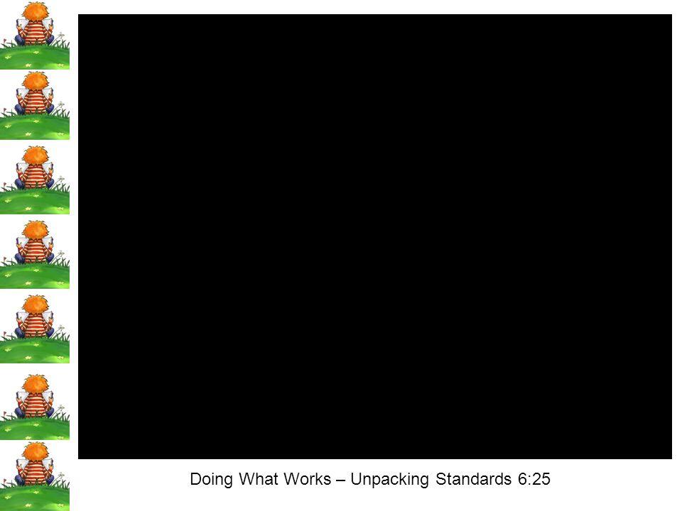 Doing What Works – Unpacking Standards 6:25