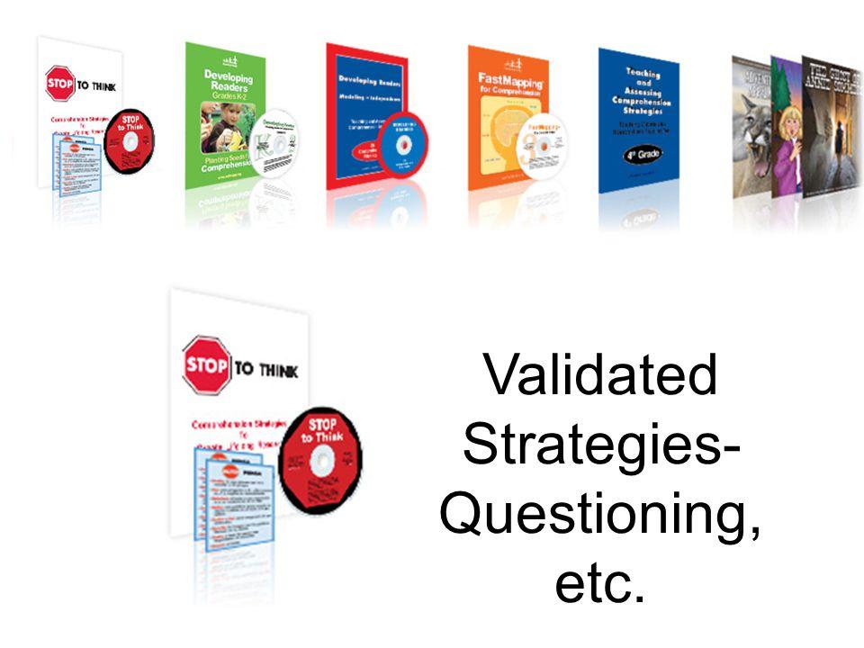 Validated Strategies-
