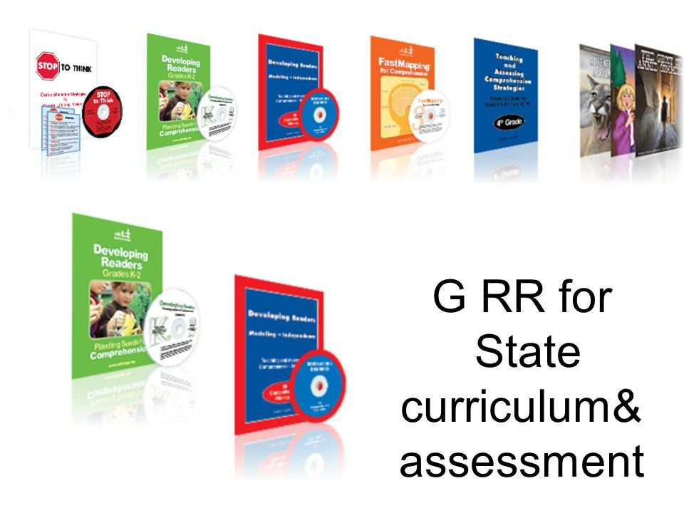 G RR for State curriculum& assessment 28
