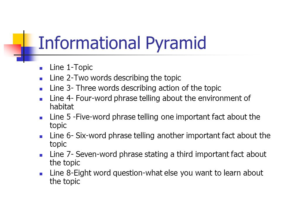 Informational Pyramid