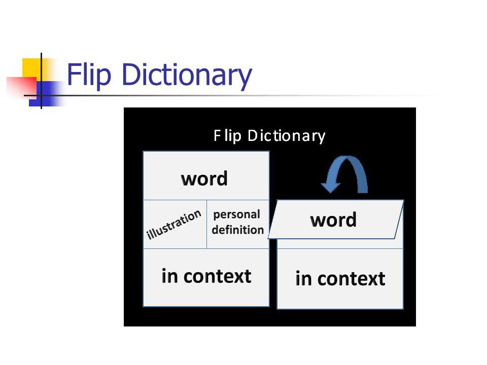 Flip Dictionary