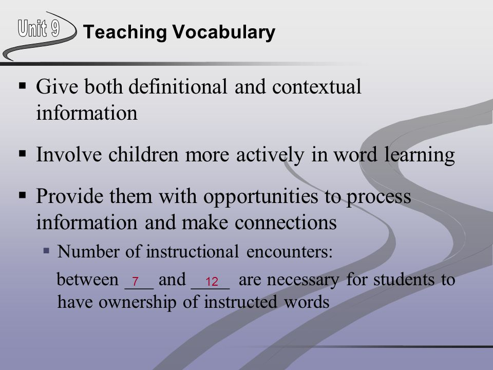Give both definitional and contextual information