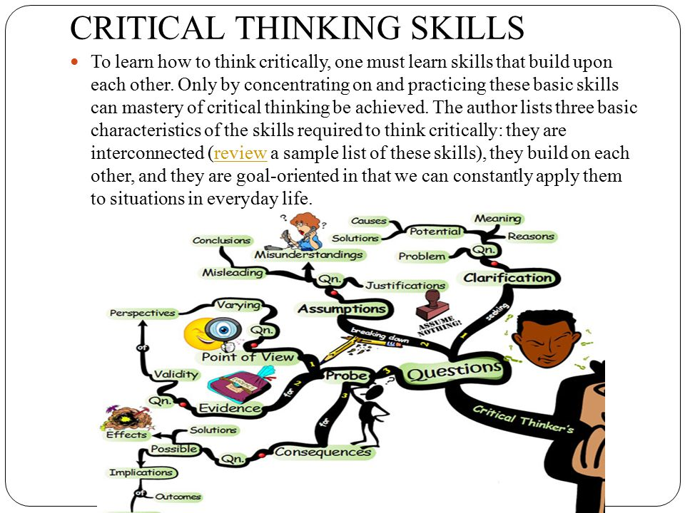 application of critical thinking