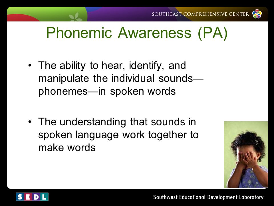 Phonemic Awareness (PA)