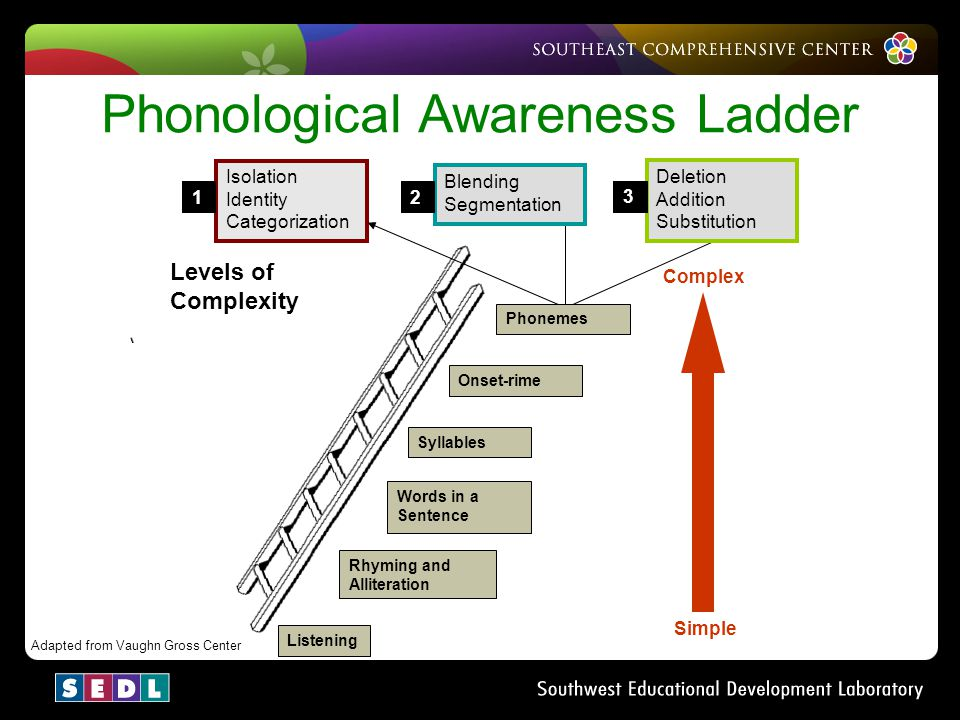 Phonological Awareness Ladder