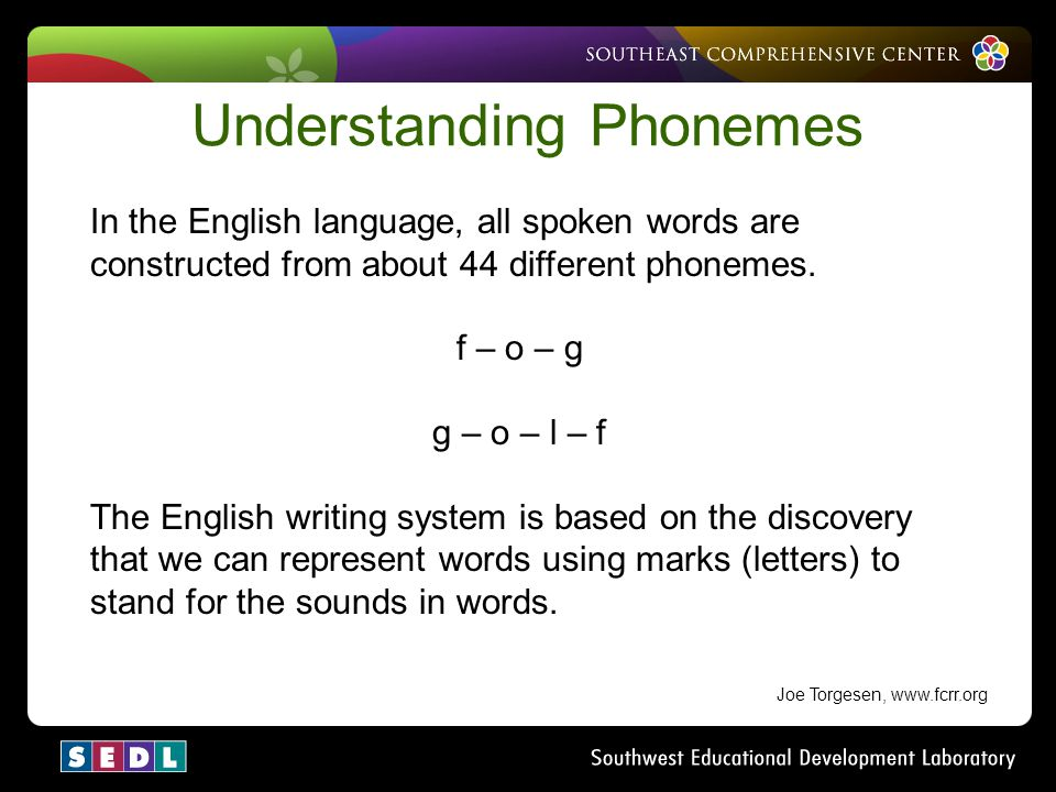 Understanding Phonemes