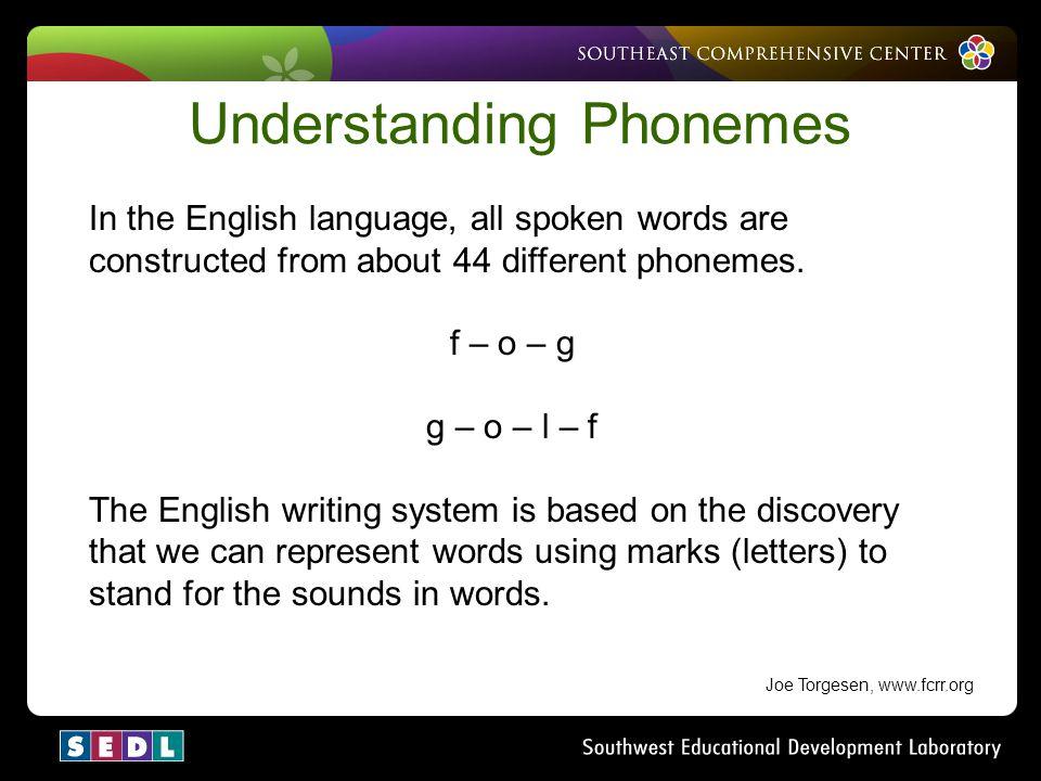 Understanding Phonemes