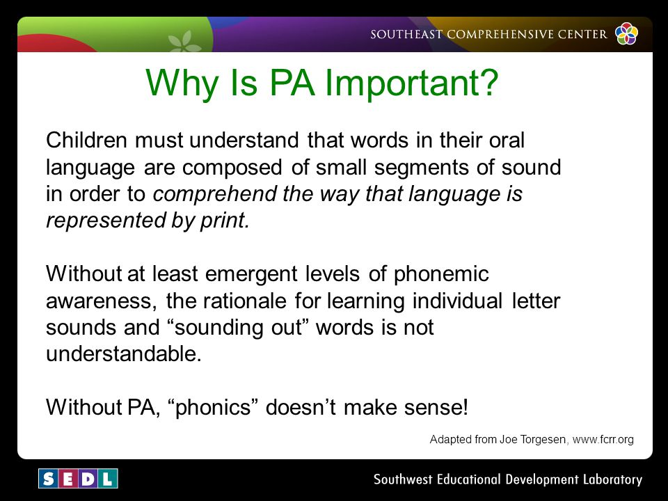 Why Is PA Important