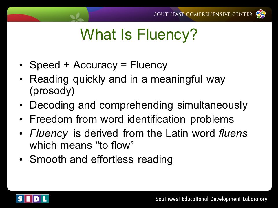 fluency is more important than accuracy To speak english accurately and fluently, one thing is more important than anything else: knowing which words go together this doesn't come from studying the rules.