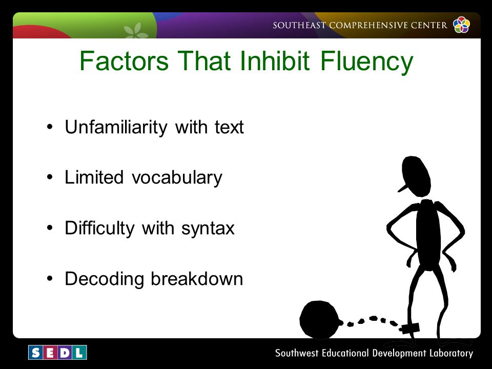 Factors That Inhibit Fluency