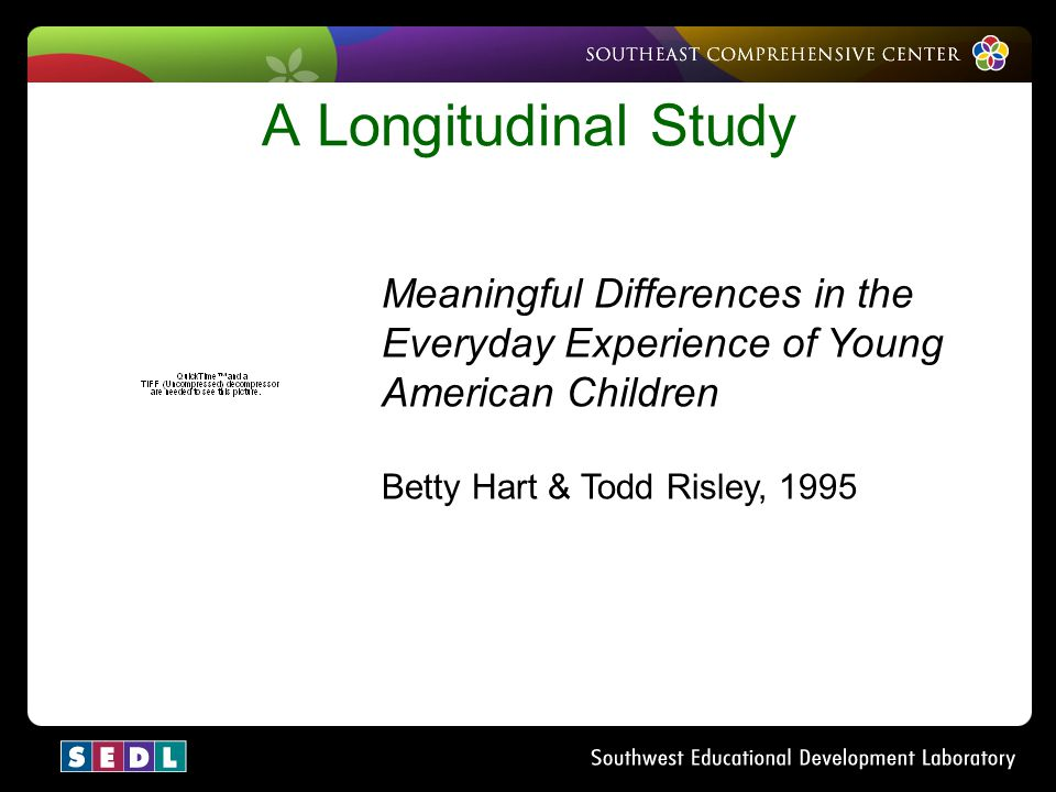 A Longitudinal Study Meaningful Differences in the