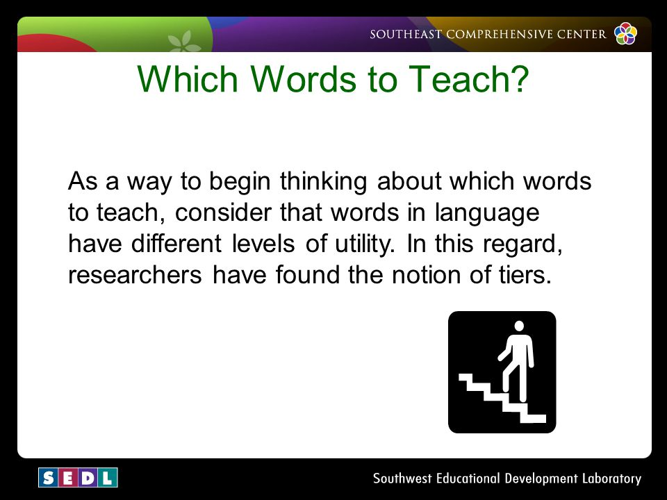 Which Words to Teach