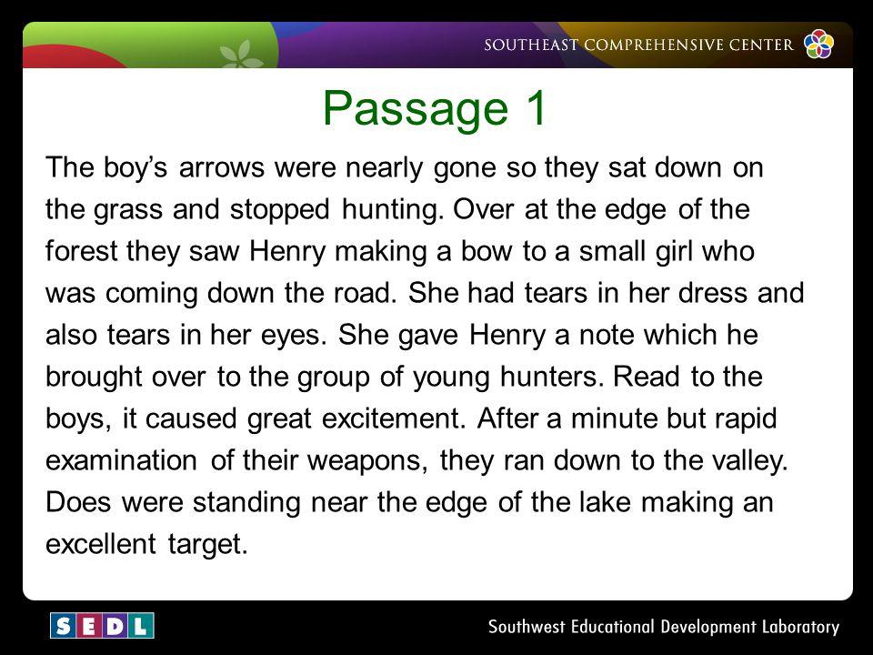 Passage 1