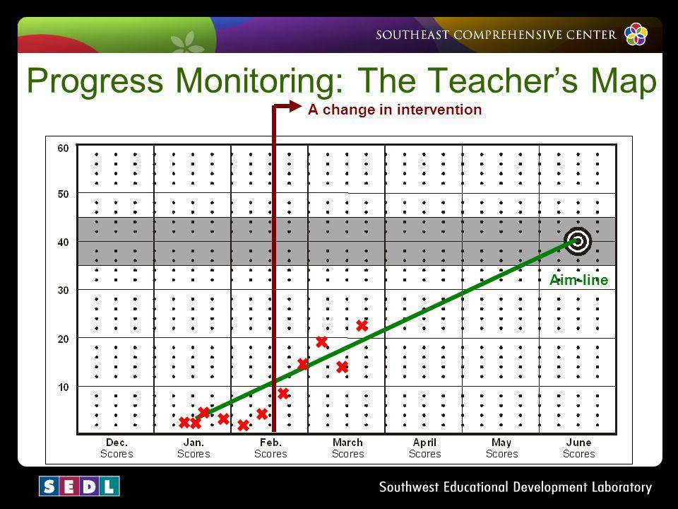 Progress Monitoring: The Teacher's Map