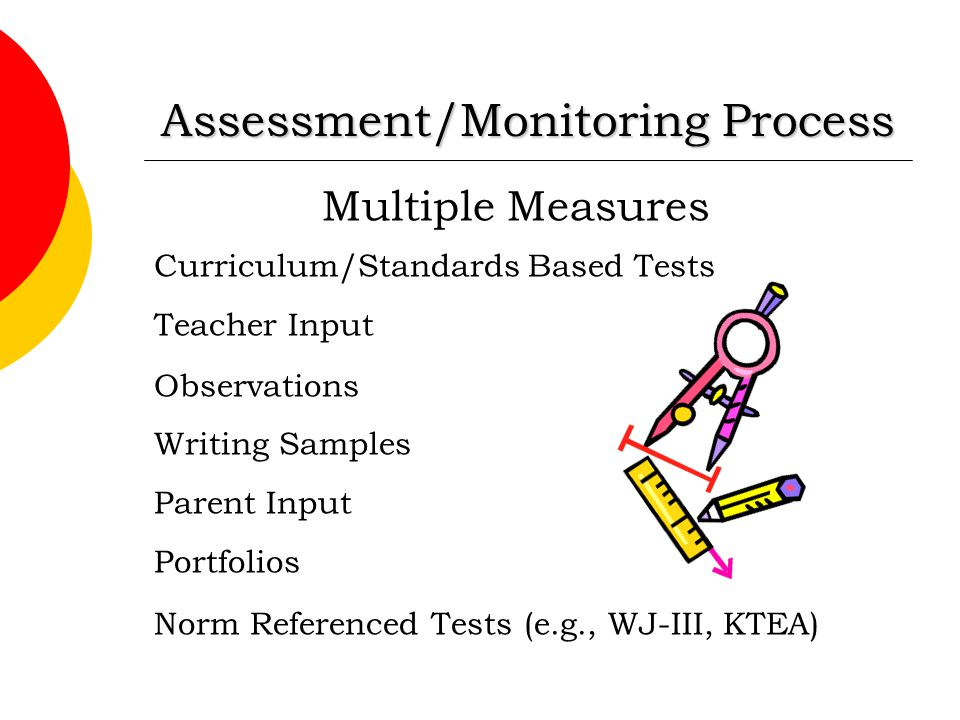 Assessment/Monitoring Process
