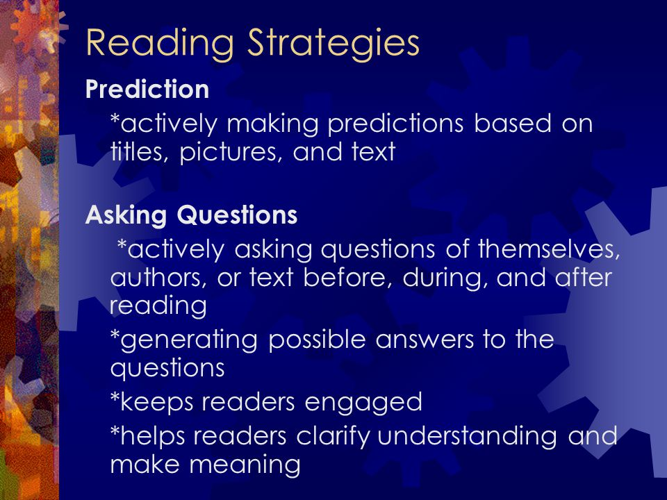 Reading Strategies Prediction