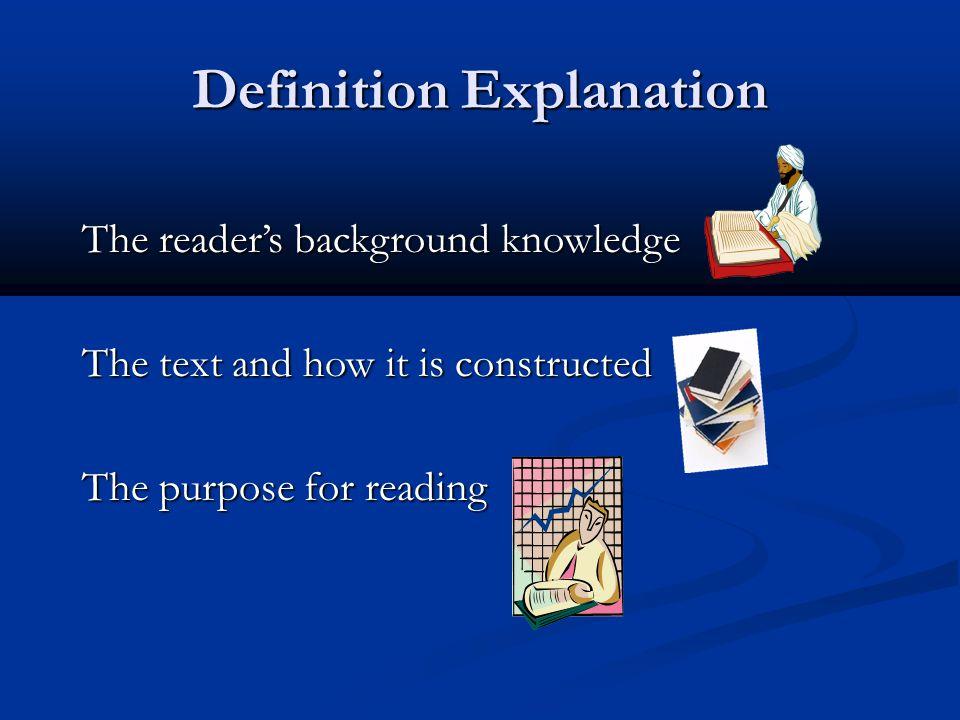 Definition Explanation