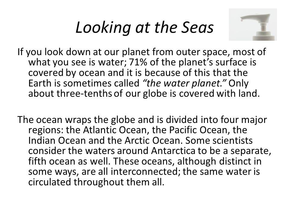Looking at the Seas