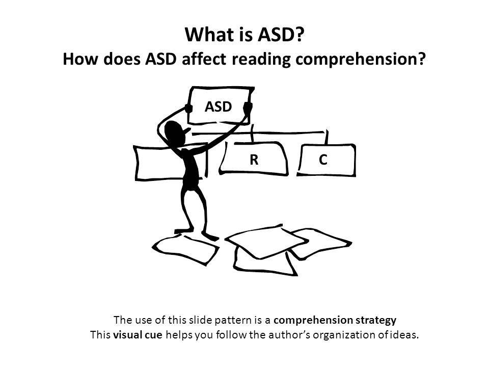 What is ASD How does ASD affect reading comprehension