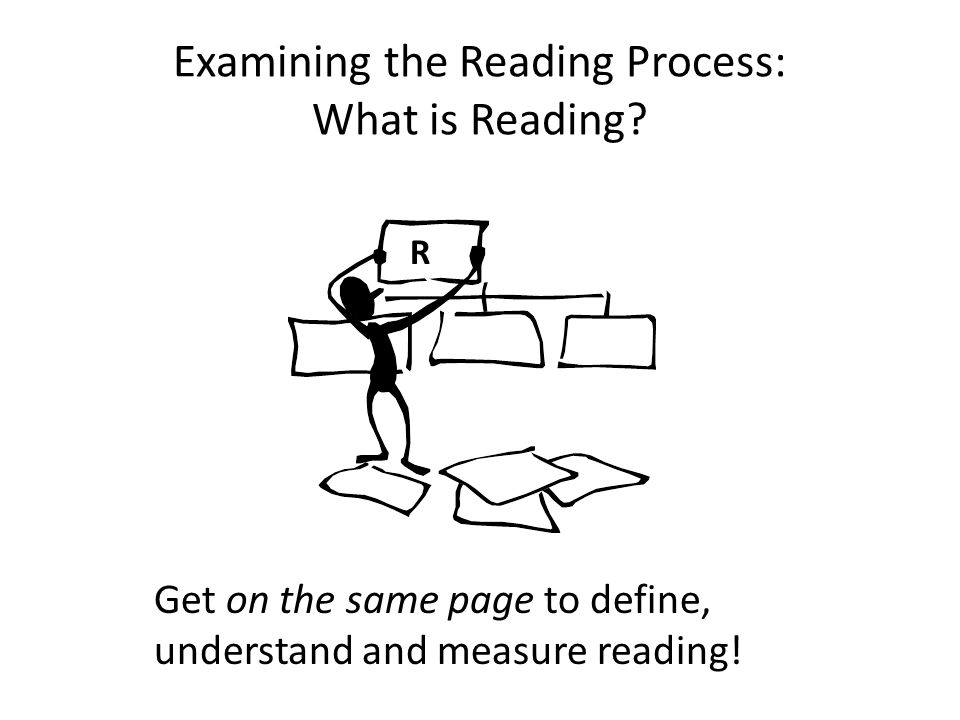 Examining the Reading Process: What is Reading
