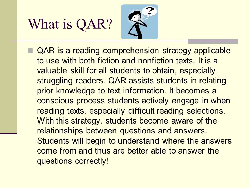 What is QAR