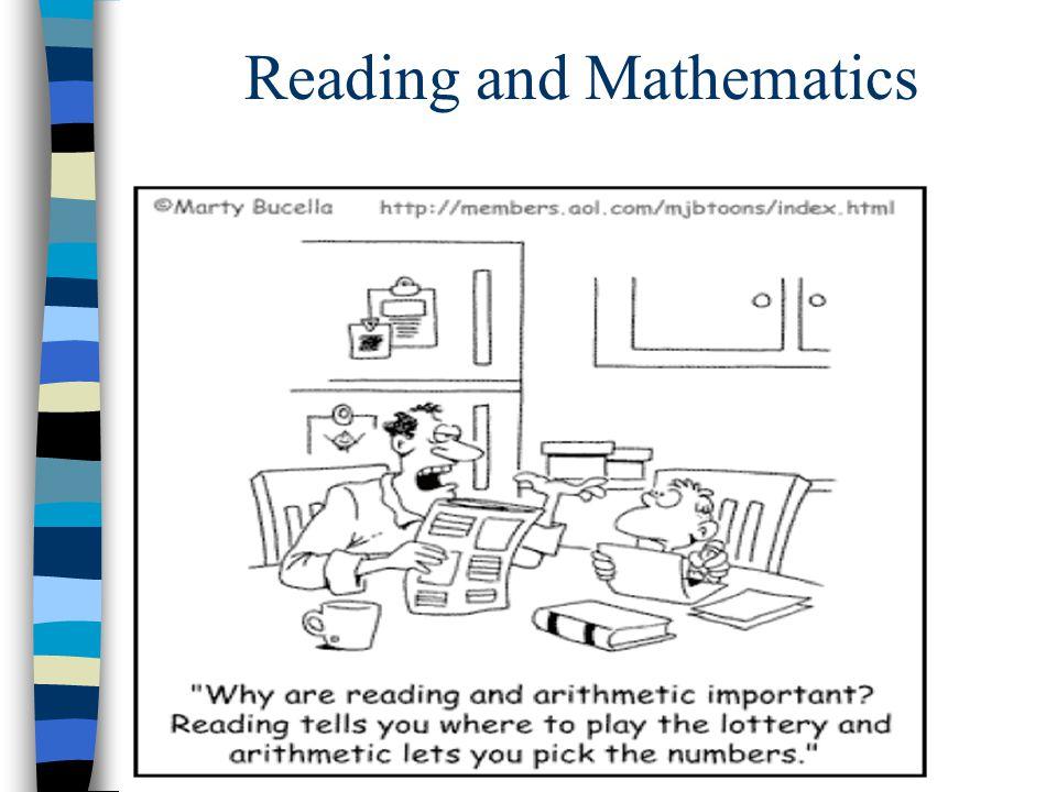 Reading and Mathematics