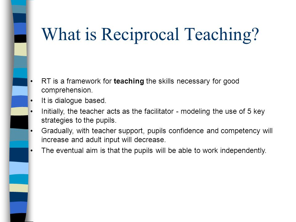 What is Reciprocal Teaching
