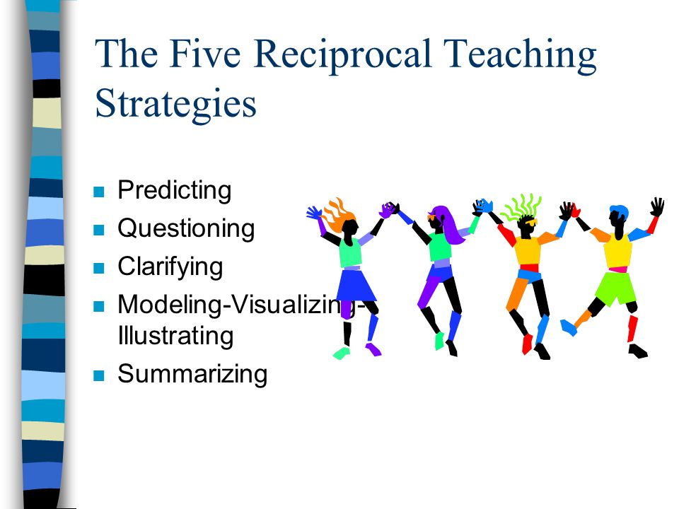 The Five Reciprocal Teaching Strategies