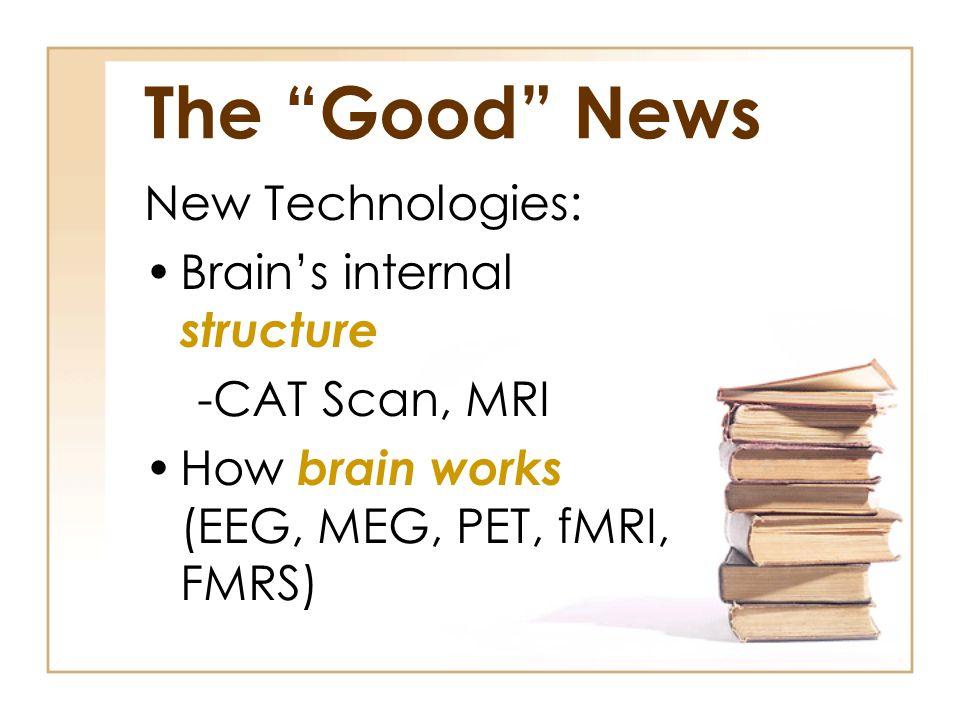 The Good News New Technologies: Brain's internal structure