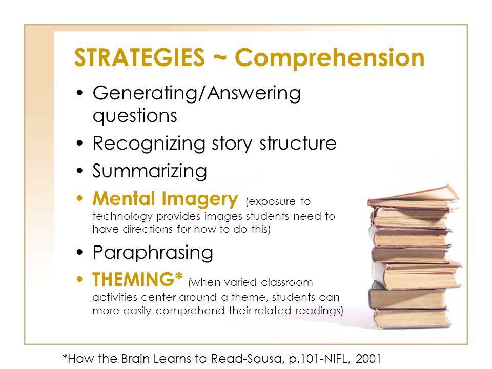 STRATEGIES ~ Comprehension