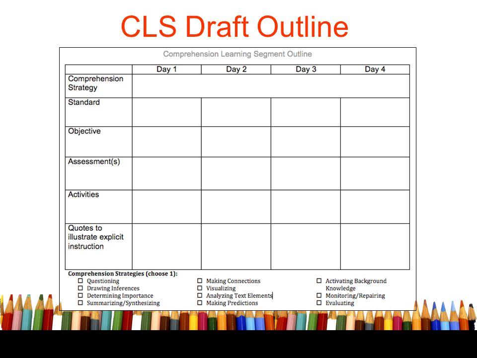 CLS Draft Outline