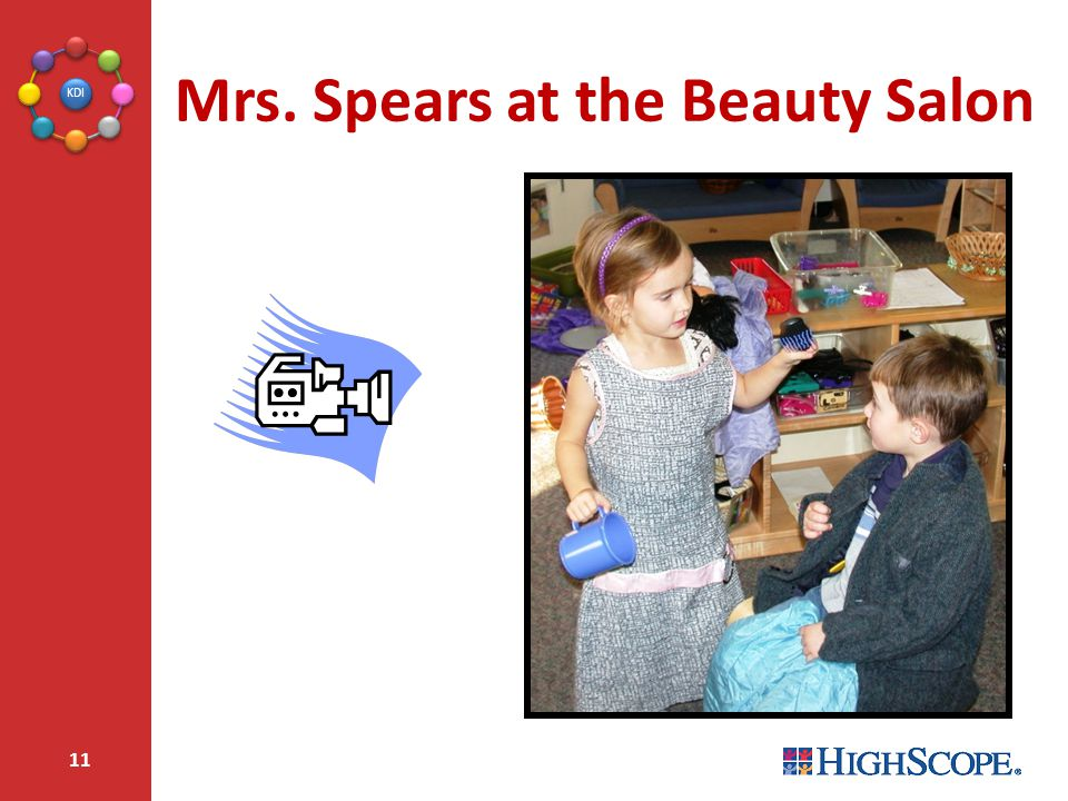 Mrs. Spears at the Beauty Salon