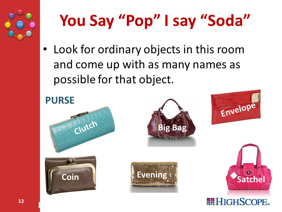 You Say Pop I say Soda