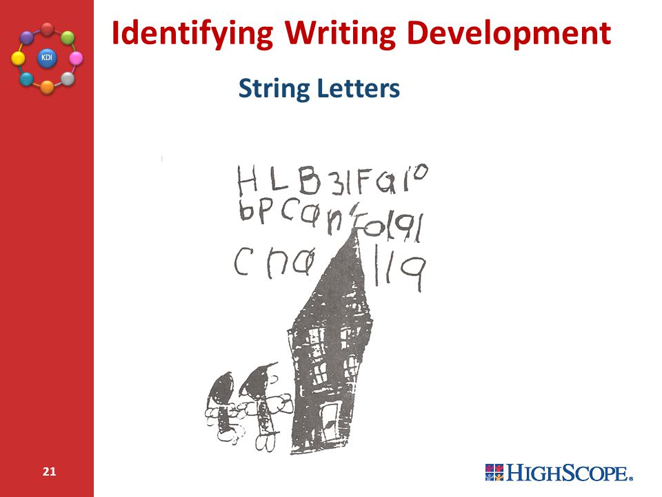 Identifying Writing Development