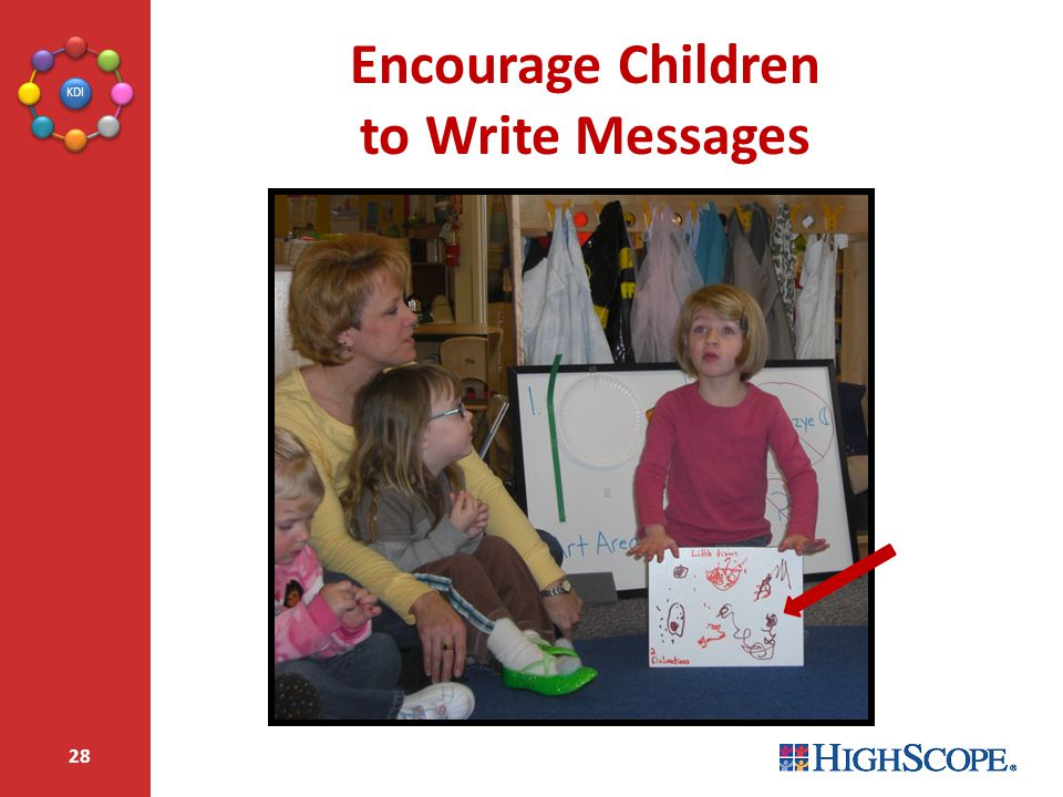 Encourage Children to Write Messages