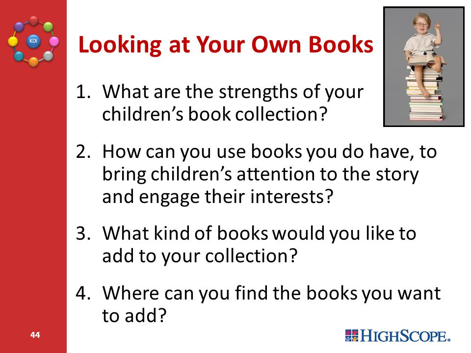 Looking at Your Own Books