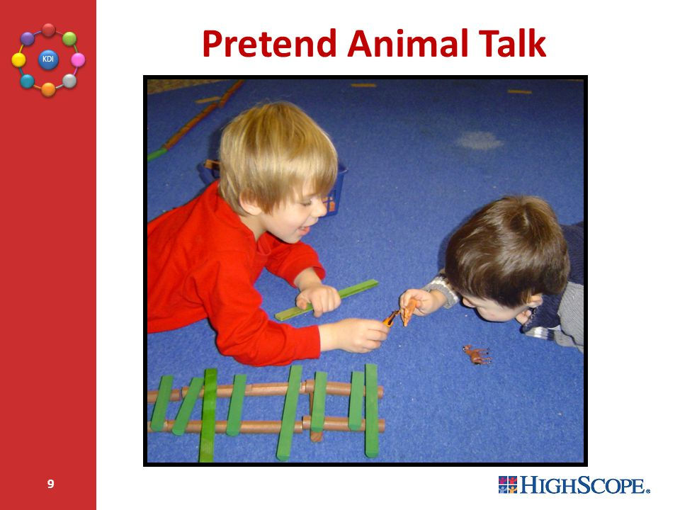 Pretend Animal Talk