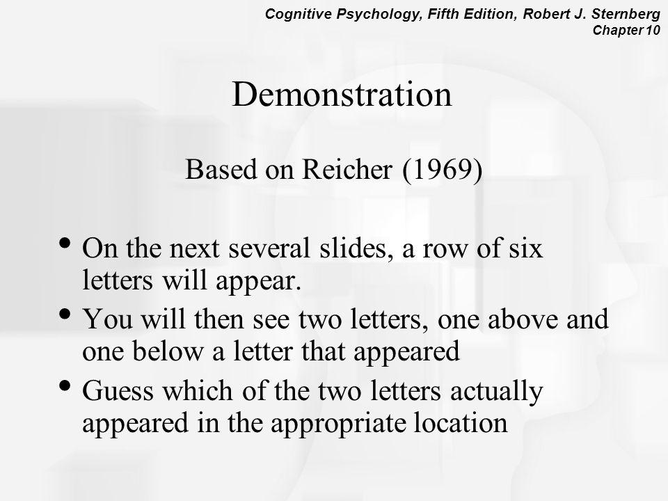 Demonstration Based on Reicher (1969)