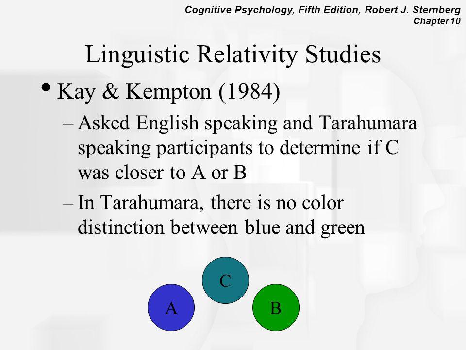 Linguistic Relativity Studies