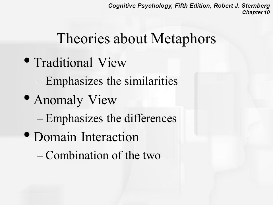 Theories about Metaphors