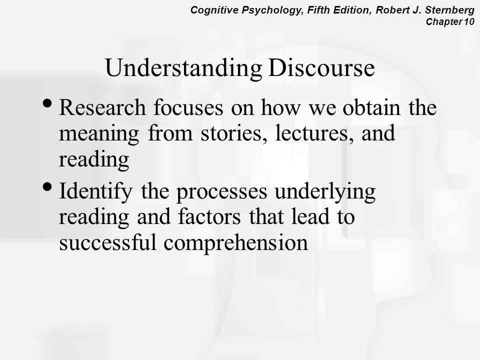 Understanding Discourse