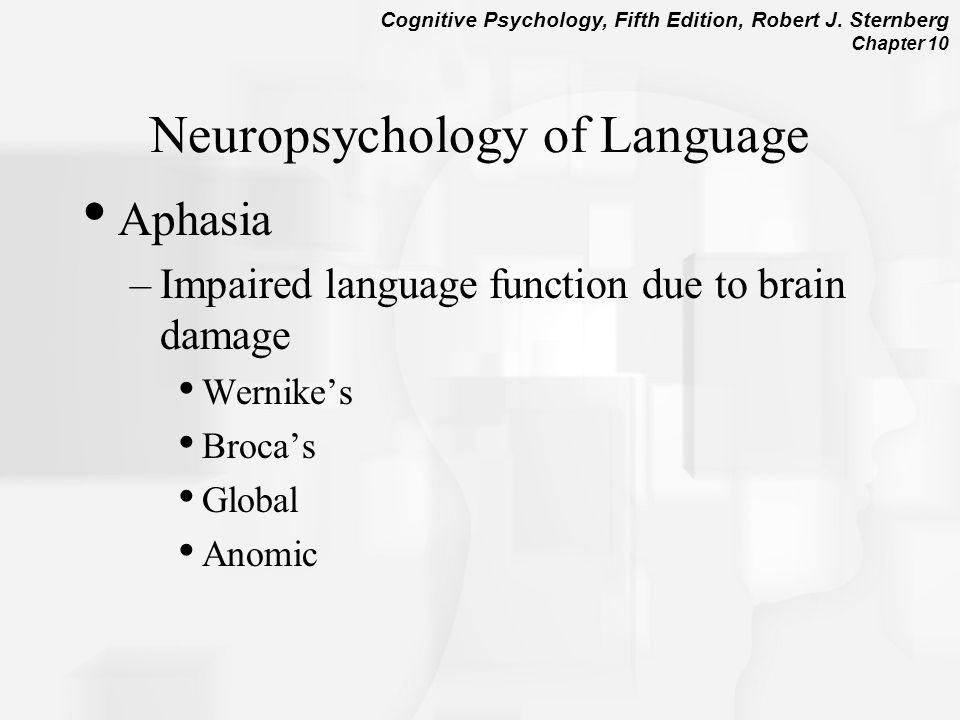 Neuropsychology of Language