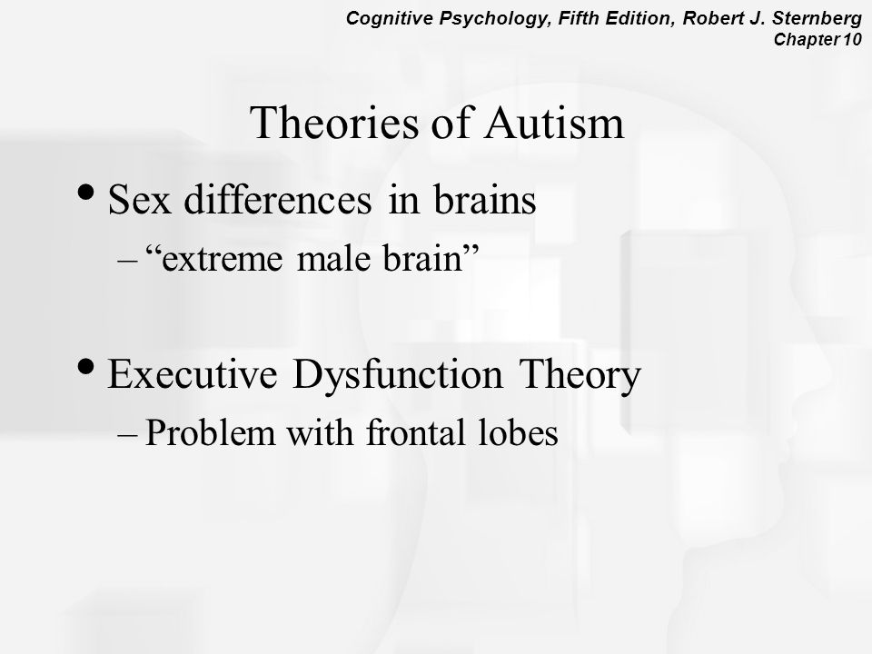 Theories of Autism Sex differences in brains
