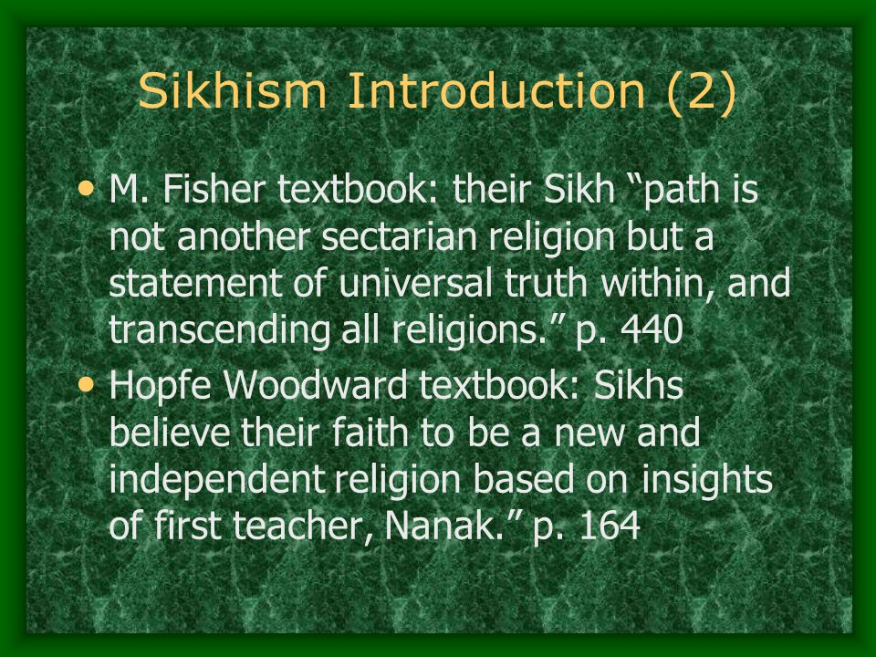 Sikhism Introduction (2)