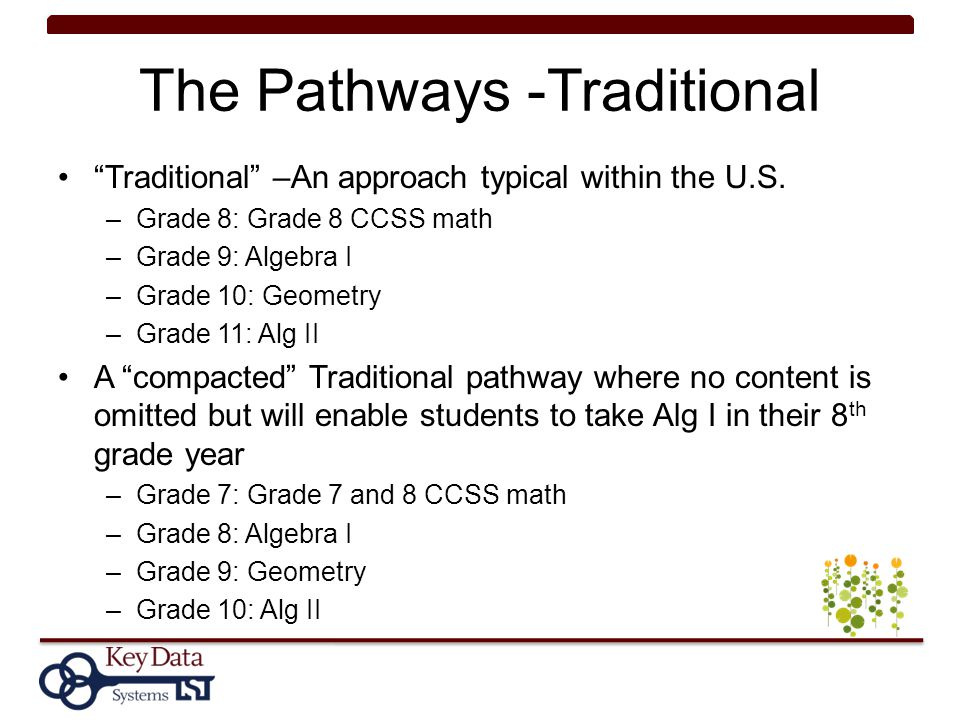 The Pathways -Traditional