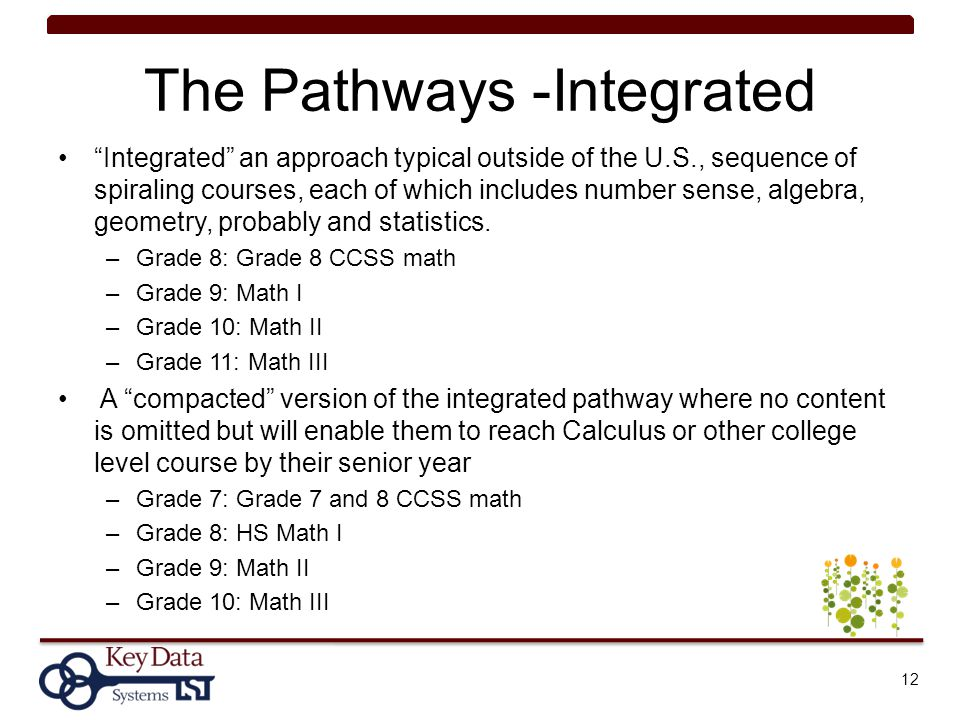 The Pathways -Integrated