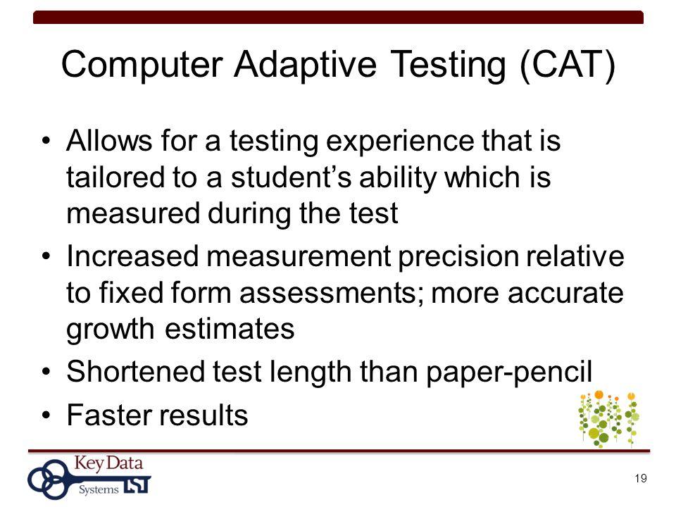 Administering Cat  Test