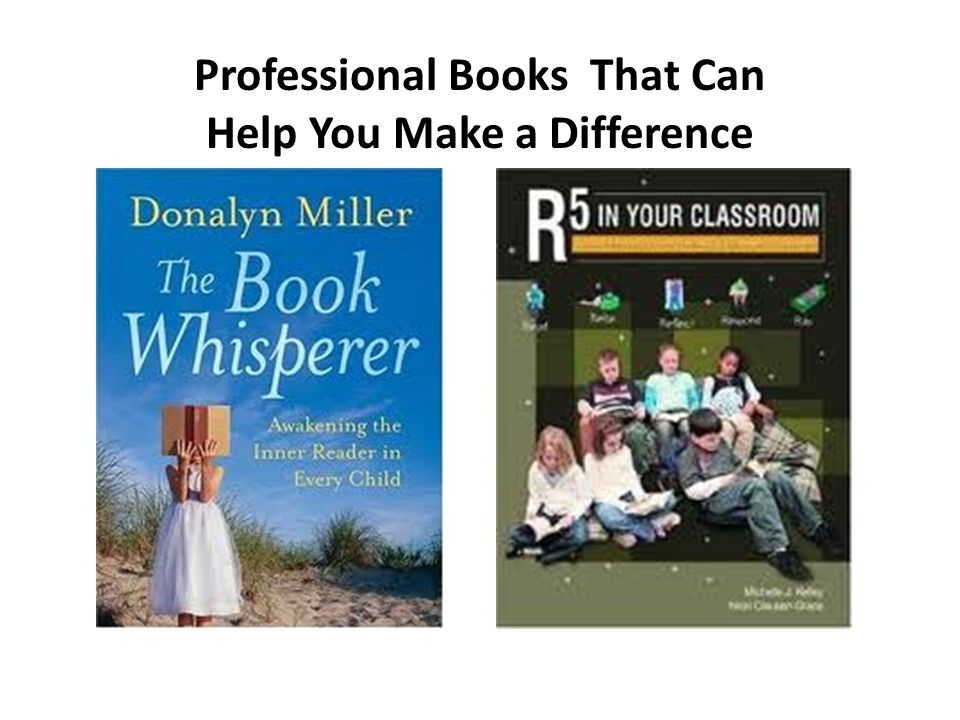 Professional Books That Can Help You Make a Difference
