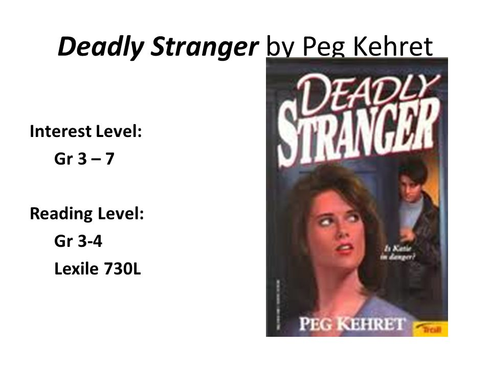 Deadly Stranger by Peg Kehret