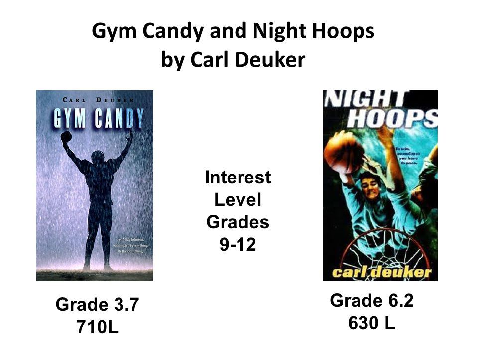 Gym Candy and Night Hoops by Carl Deuker